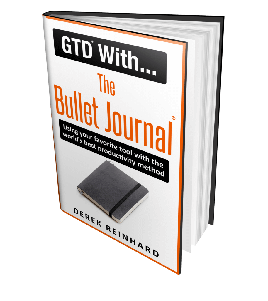 GTD With Bullet Journal Kindle Book Cover